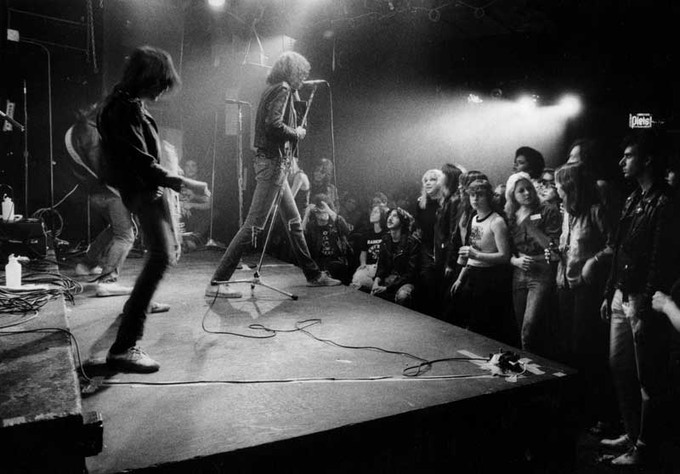 "Ramones, CBGB's 1977 - available 11""x14"" C-Print"