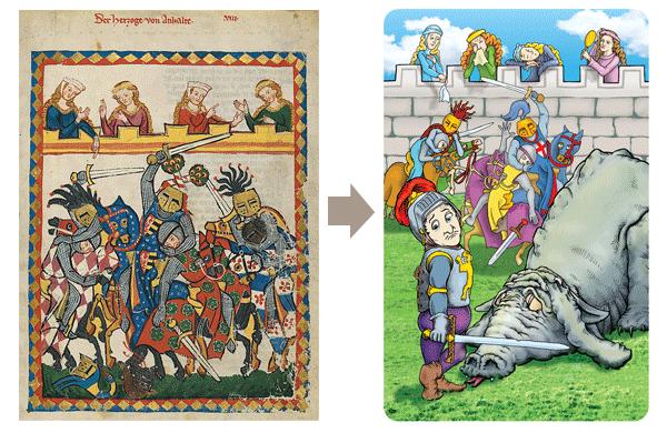 A Renaissance manuscript is reborn with a twist! (back #1, right)
