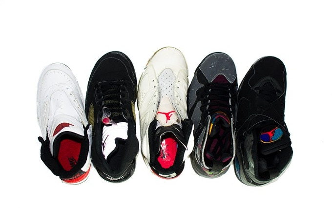 Special Insight on in-soles and outsoles of various models