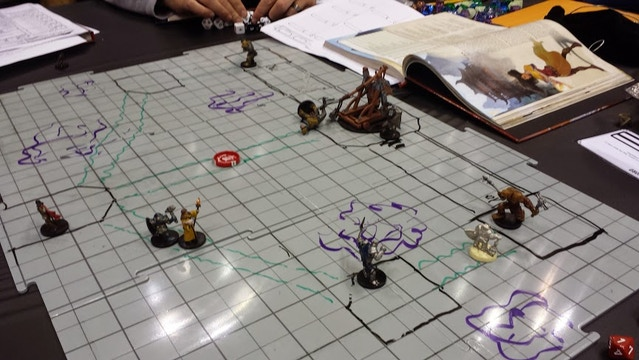He And A Few Others Ran Using Prototype Tact Tiles At The Con We Reciate Their Support