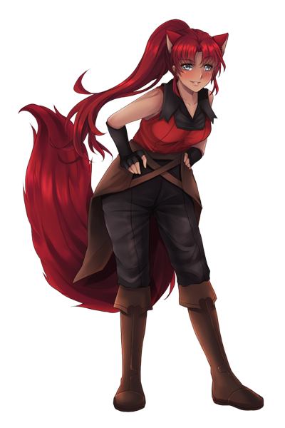 Alexi, an imperial agent sent to stop Natalie (finished sprite)