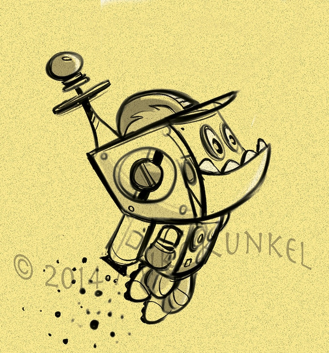 SPROCKIT the robot.
