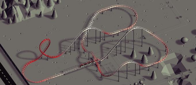 Track G-force visualization mode