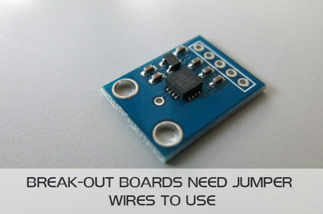 Like many Break-out boards, sensor boards are nice, but still need soldering and wiring