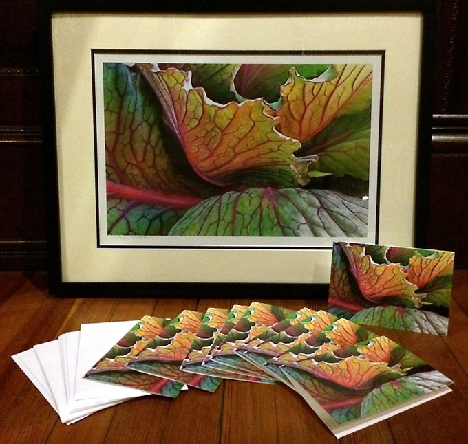 """Cards and Large Print in 18"""" X 24"""" Frame"""