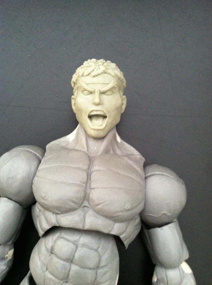 Ryu's alt head