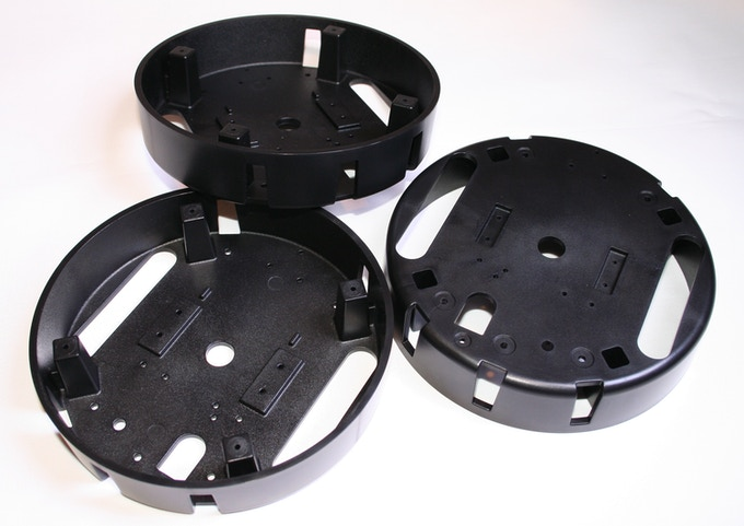 2nd Batch of Injection Molded Bases