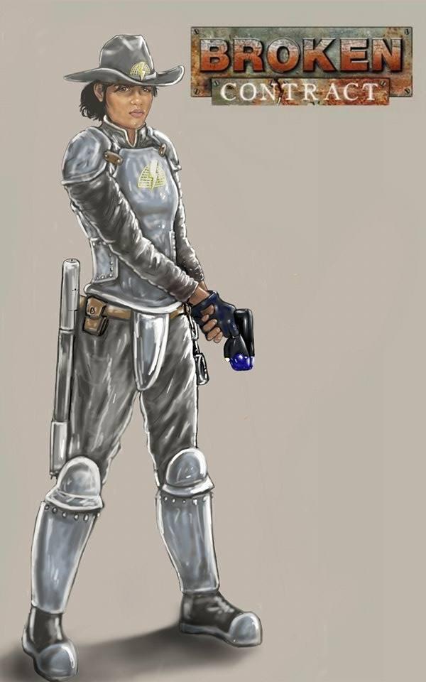 Officer Sarie Moerta by Geng Gendall