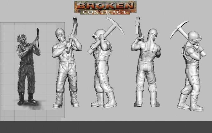Breaker Adesi Haddonis by Geng Gendall (art) & Tim Barry (3D sculpt)