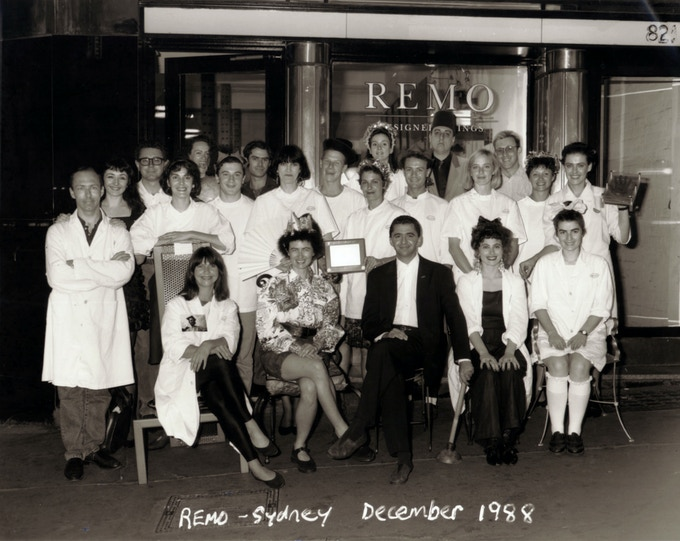 REMO People 1988 | The Adventure Begins | Remo in front with plunger