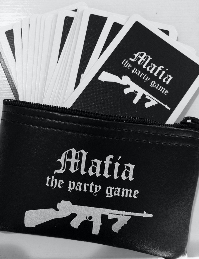 Mafia The Party Game Now With 8 New Character Cards By Matt D