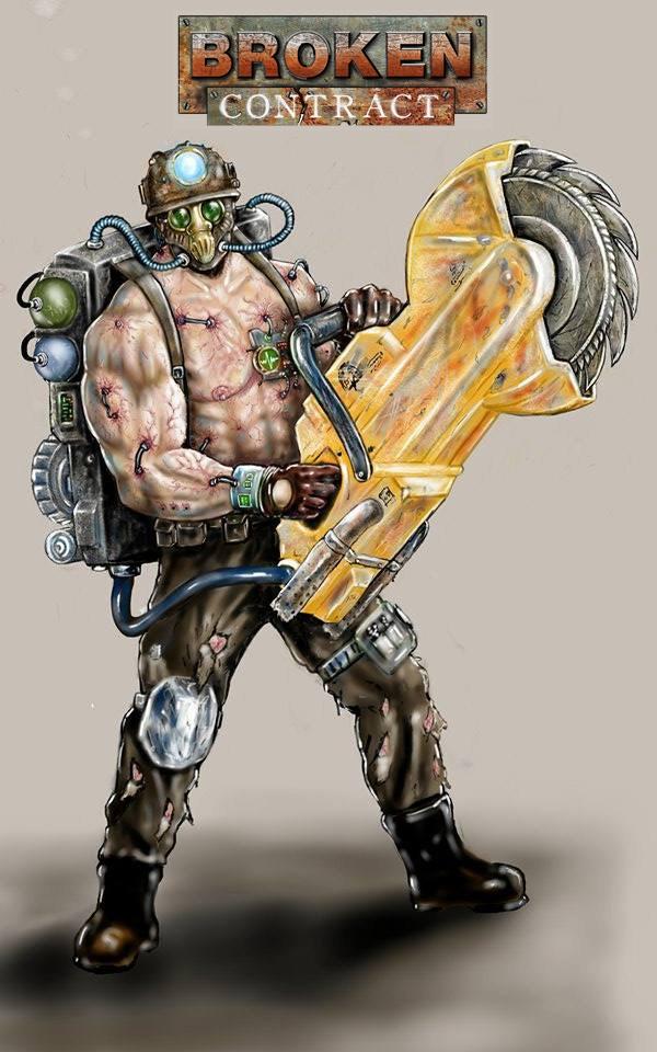 Trest the Gen-Mod Brute by Geng Gendall