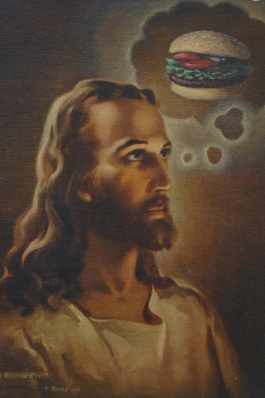 """Jesus Burger"""