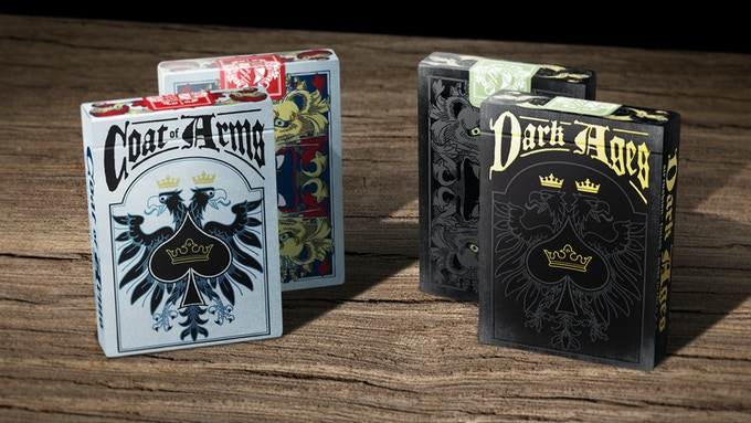 Coat of Arms Deck and Dark Ages Deck Black- Limited Edition