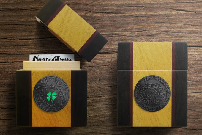 Custom Hand Made Playing Card Holder - with 2 inch