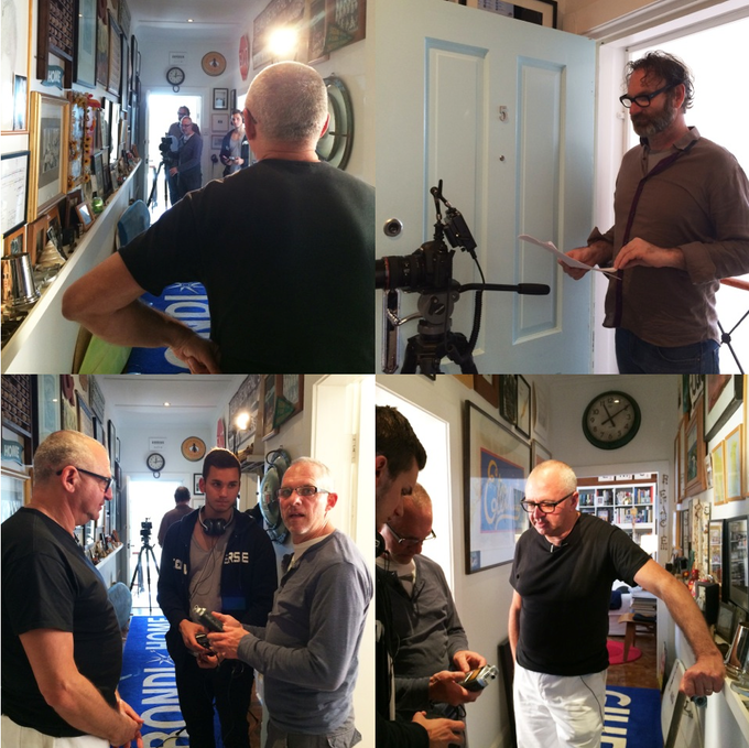 Kickstarter video shoot with Peter Cramer and the team from The Milkbar in Sydney | Bondi | Monday 25 August 2014