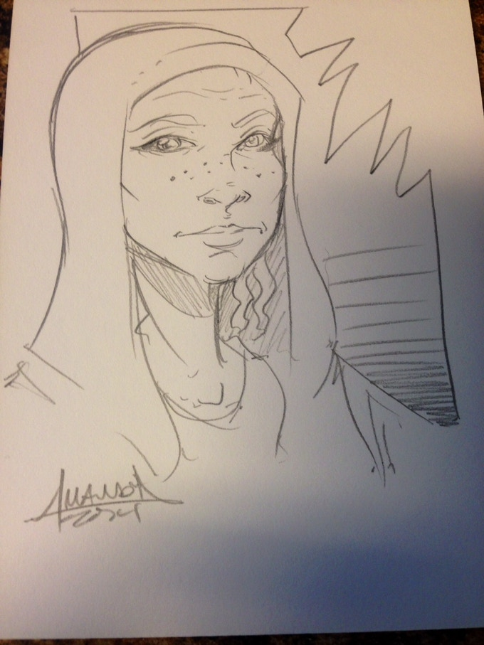 Sample Amanda Rachels Sketch!