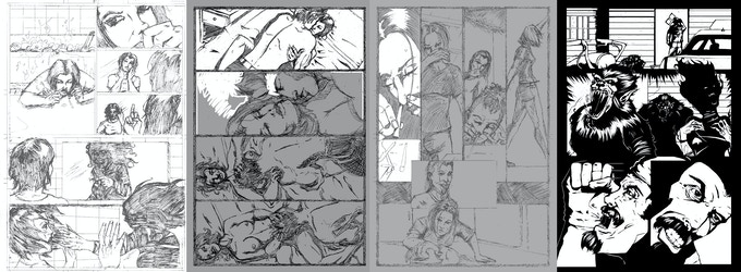 With secrets of the Pact pledge level get behind the scenes info and see how I construct a page.