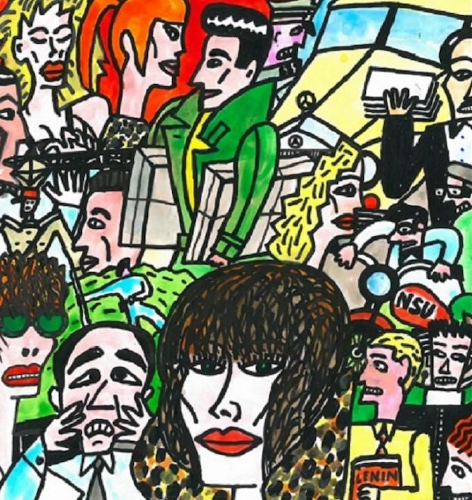 Trade paperback cover art / Andre Krayewski