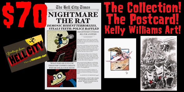 For $70, you get a color commission from Kelly Williams!
