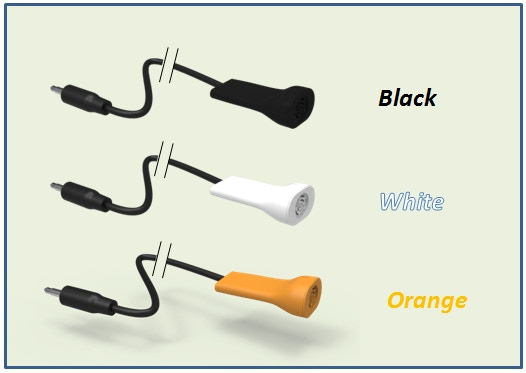 We would launch probes in 3 colors, Black, White and Orange. Color of Probes shipped would according to the backing amount.