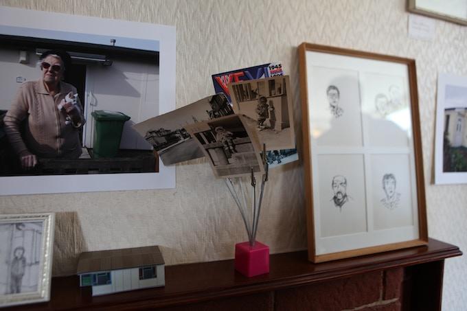 Art display at the Prefab Museum