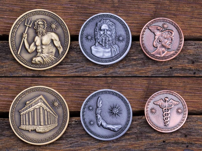 3 Coin Greek Set!
