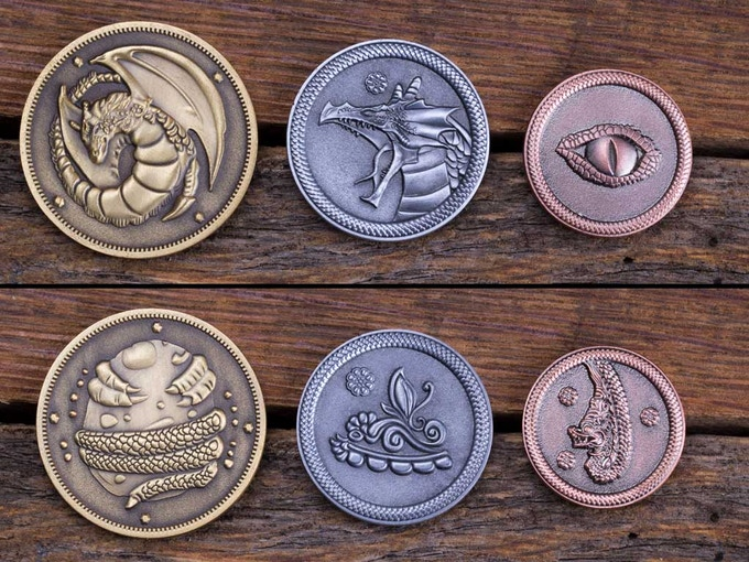 3 Coin Dragon Set!