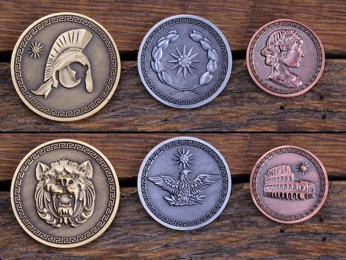3 Coin Roman Set!