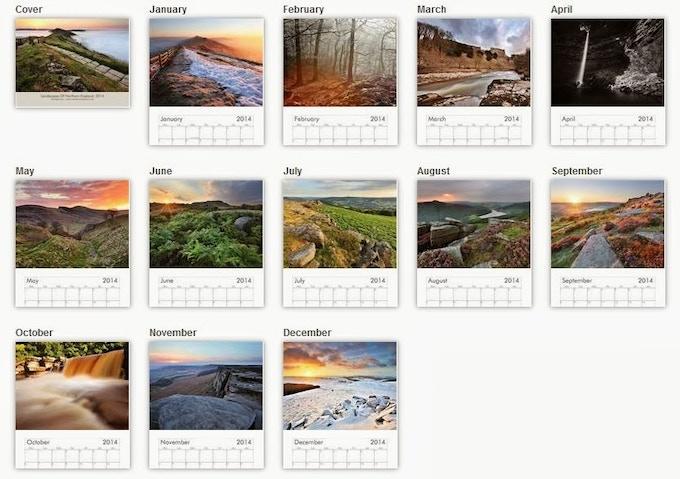 Last Year Calendar : Northern landscape calendar by mat robinson