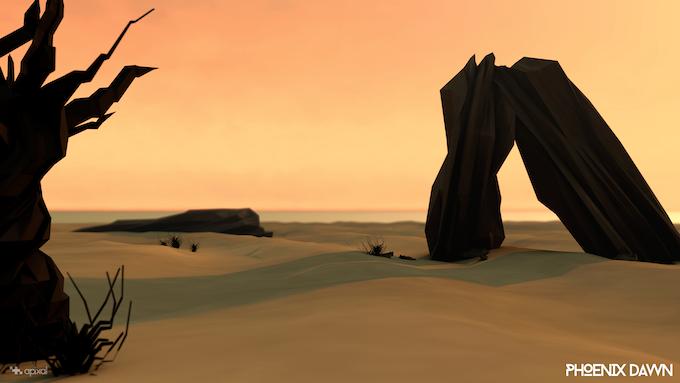 The World of Phoenix Dawn - Desert