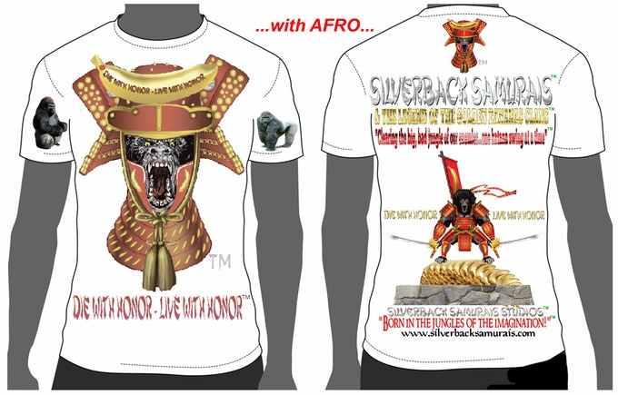 "This is the ""AFRO"" T-shirt design. Please, state style and size."