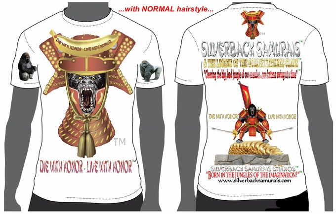 "This is the ""NORMAL"" T-shirt design.. Please, state style and size."