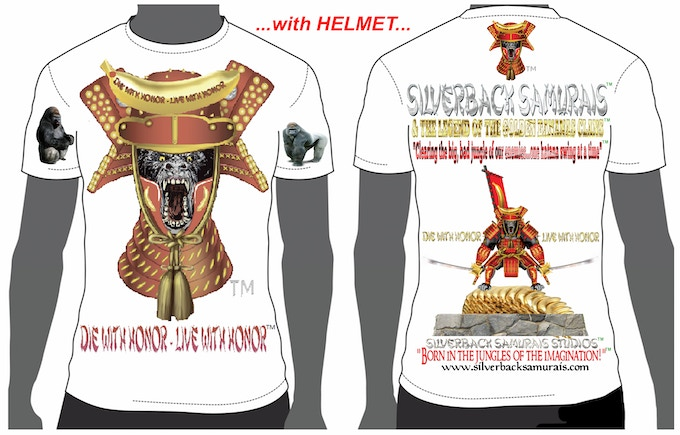 "This is the ""HELMET"" T-shirt design.. Please, state style and size."