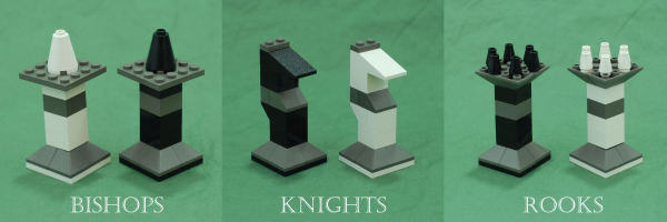 Bishops, Knights, and Rooks