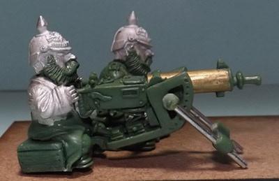 Prussian Scrunts with Heavy Machine Gun- side view