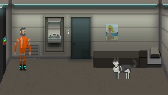Crew member living quarters.