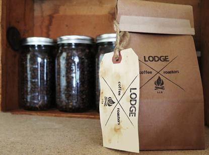 1 lb of coffee from Lodge Coffee Roasters