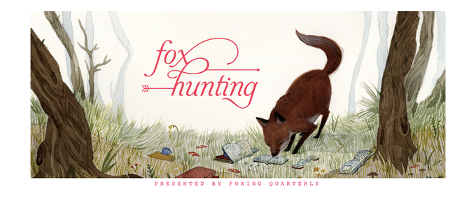 Fox Hunting Banner by Jensine Eckwall