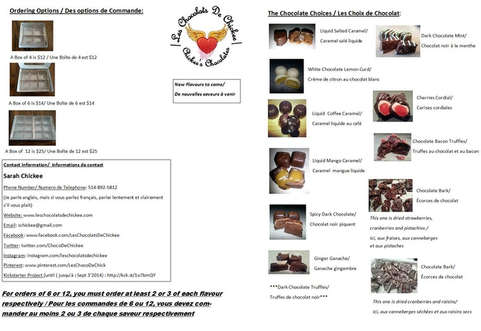 This is my Ordering Brochure from my Website.