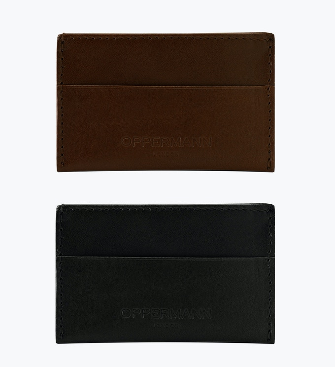 Hattrick Cardholder Chocolate & Black, £30 (normal price £40)