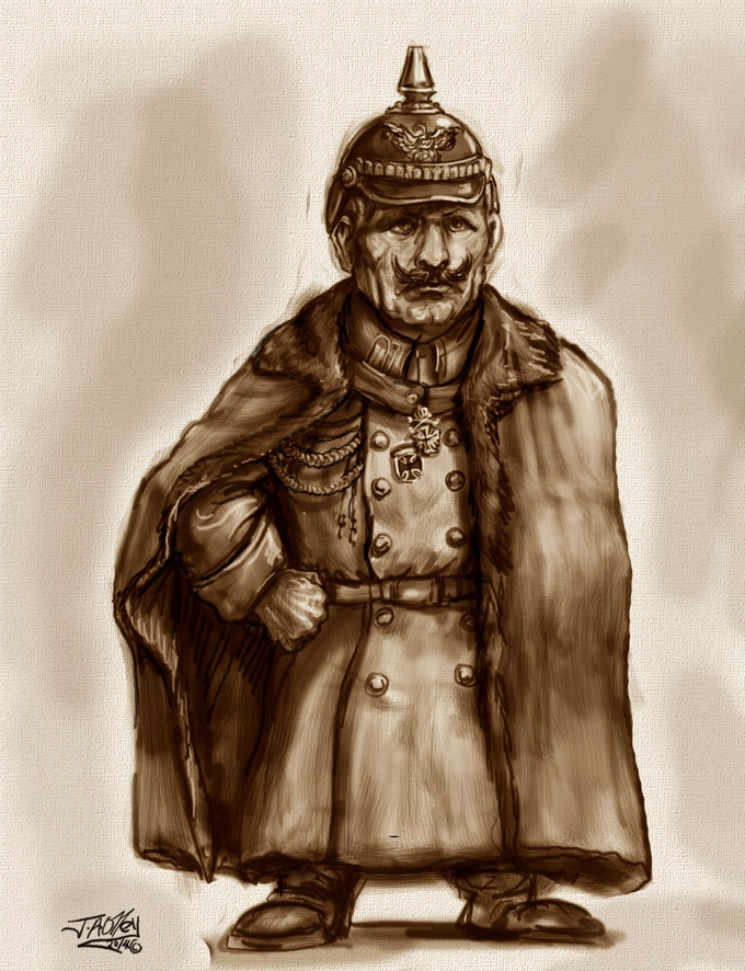 Kaiser Wilhelm Scrunt - Free To All Pledges of £120 or more when funding goal of £4,750 reached