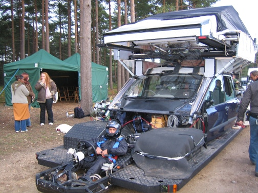 The car rig Frank operated on Children of Men.