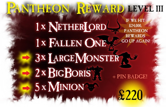 The PANTHEON pledge is now a sweet deal indeed!
