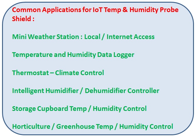 Temperature and Humidity sensing are very common for DIY Maker projects.