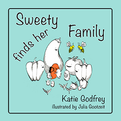 Illustrated children's book, Sweety Finds Her Family