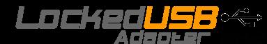 LockedUSB Adapter MK2 USB Active Charger Firewall & Power Optimizer
