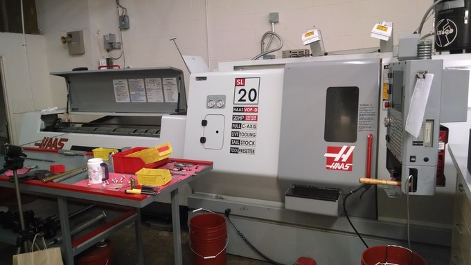 HAAS SL-20: If it is good enough to make parts that orbit the Earth, it is good enough to make the Janus Top