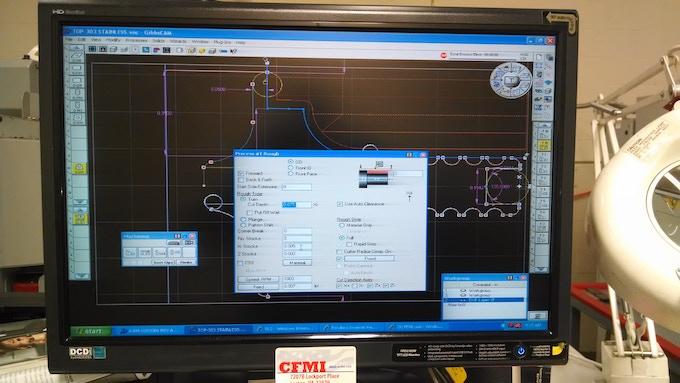 CNC program for the Janus Top Spindles