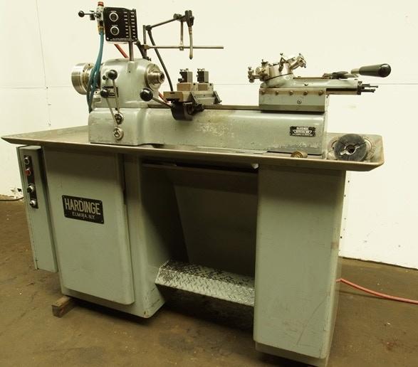 Hardinge Precision Turret Lathe: The workhorse of many-a-machine shop